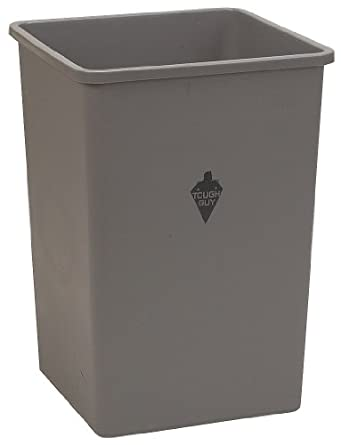 Tough Guy 4PGT5 Square Container, Gray, 35 G