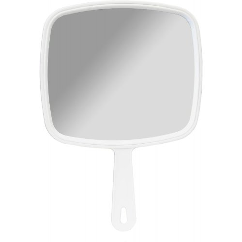 Salon Professional Hairdressing Large Hand Held Mirror By Dmi