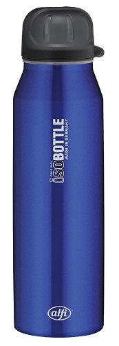 alfi-5337638050-Isolier-Trinkflasche-isoBottle-05-L-edelstahl-rein-blau