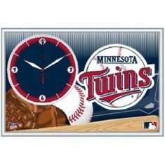 MLB Minnesota Twins Framed Clock by WinCraft