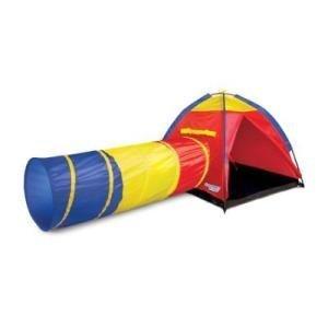 Discover Kids Indoor Outdoor Adventure Play Tent Tunnel