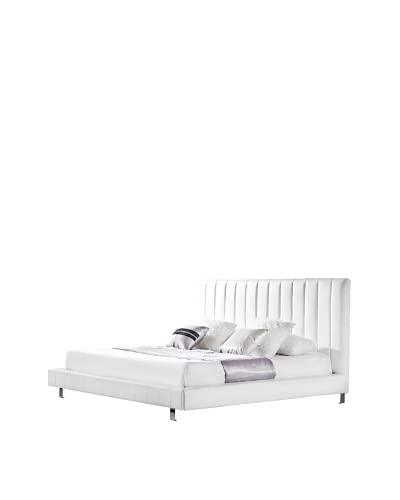 Casabianca Furniture Amalfi Bed  [White]