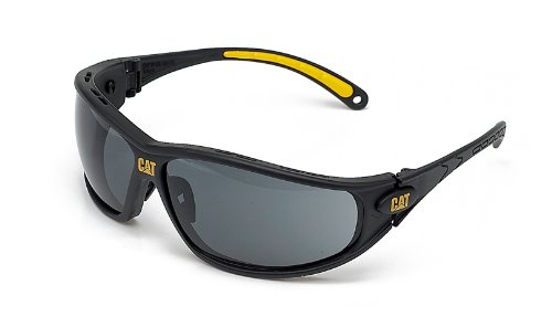 Caterpillar Tread Smoke Anti Scratch/Anti Fog Safety Glasses - Ideal for Cycling - Great Sunglasses
