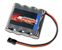 4.8V Tenergy 2000mAh NiMH Receiver RX Battery with Hitec connectors for RC Cars and Airplanes by Tenergy