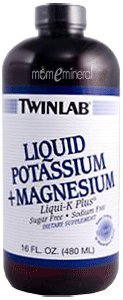 Liquid Potassium + Magnesium, Liqui-K Plus, 16 fl oz (480 ml) by Twinlab