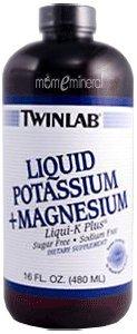 Liquid Potassium, Liqui-K, Unflavored, 16 fl oz (480 ml) by Twinlab