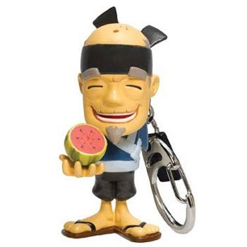 Fruit Ninja Sensei Blade Fruit Keyring - Slice