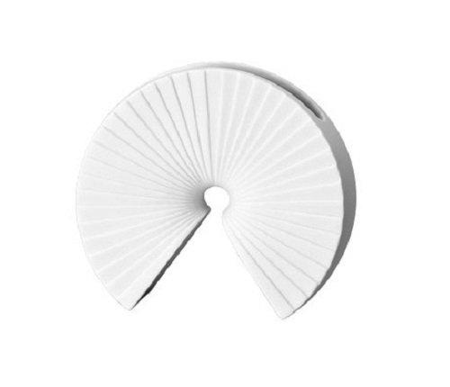 Rosenthal 13719-100102-26008 Arcus - Vaso in miniatura in porcellana, altezza 8 cm, colore: Bianco