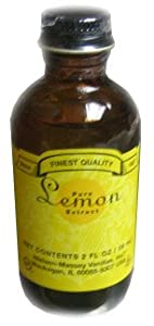 Pure Lemon Extract (Nielsen-Massey) 2oz (59ml)