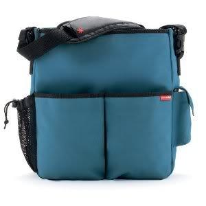 Extraordinarily Durable Skip Hop Duo Essential Diaper Bag With Cushioned changing pad - Teal Nourrisson, Bébé, Enfant, Petit, Tout-Petits