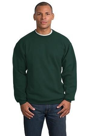 Port & Company - Crewneck Sweatshirt, PC90, Dark Green, L