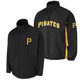Pittsburgh Pirates Authentic Triple Climate 3-In-1 On-Field Jacket by The Pittsburgh Fan