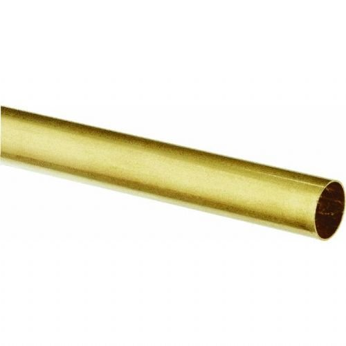 "Round Brass Tube 9/16"", Carded - 1"