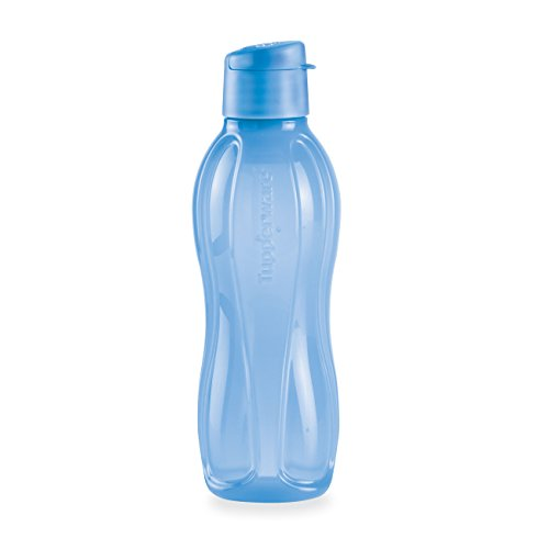 Botella de agua ecol gica mediana vivid blue de tupperware for Botellas tupperware amazon