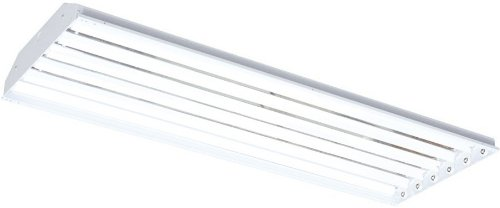 RAB RB6T5 Rab Rbay 6 X 54W T5 Linear Fl High Bay with Y Hook, White Color