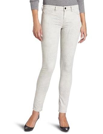 Calvin Klein Jeans Women's Liquid Metal Legging女式铅笔裤 Dove$38.08