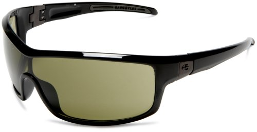 Gargoyles Men's Contact Green Lens Oversized Sunglasses