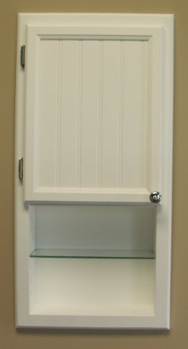 Wc 430ws 30 H Recessed In Wall Bathroom Medicine Cabinet With Shelf Solid Wood Medicine