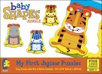 Baby Shapes Jungle (My First Jigsaw Puzzles) 4 in 1 puzzles