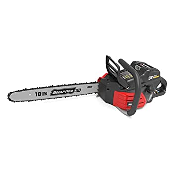 Snapper XD SXDCS82 82V Cordless 18 Chainsaw without Battery and Charger, 1696773
