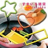 シリコンリングセット(ターナー付き)【お弁当おかず用&ホットケーキリング】