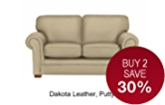 Fraser Small Sofa - Leather