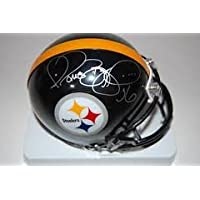 Jerome Bettis Signed Autograph Pittsburgh Steelers Mini Helmet Authentic Certified Coa