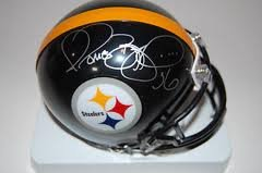 Jerome Bettis Pittsburgh Steelers Signed Autographed Mini Helmet Authentic Certified...