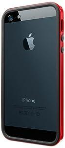 iPhone 5S Case, Spigen Neo Hybrid EX Slim Vivid Case for iPhone 5S/5 - 1 Pack - Dante Red (SGP10026)