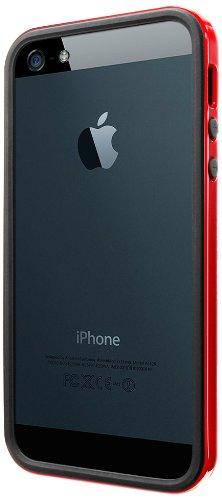 【国内正規品】SPIGEN SGP iPhone5/5S ケース ネオ・ハイブリッド EX スリム ビビッドシリーズ [ダンテ・レッド] 【SGP10026】
