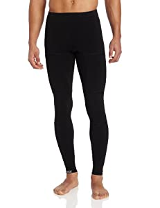 110 Percent Play Harder Men's Clutch Compression Tights + ICE for hips, glutes, lumbar, ITBand, quadriceps, hamstrings and knees (Black,  X-Large)