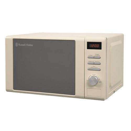 Russell Hobbs RHM2064C Digital Microwave, 20 Litre - Cream