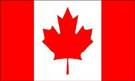Freeshipping - 3x5ft Polyester United Nations---Canada Flag #F542