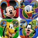 Disney Mickey Mouse Clubhouse Playtime Dessert Plates - 8ct
