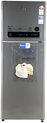 WHIRLPOOL FROST FREE FRIDGE 340 LTRS PRO 355 ELT 2S ILLUSIA STEEL