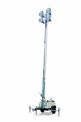 Terex RL4 Compact Portable Light Tower, 6kW Generator Powered, 4000 Watts of Light