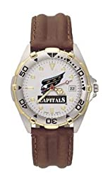 Washington Capitals All Star Leather Mens Watch