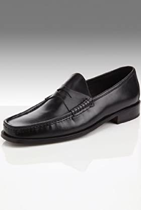 Collezione Leather Saddle Loafers [T03-6651I-S]