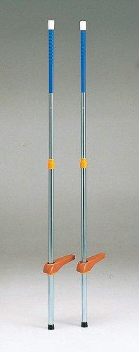 KAWAI スライド式 竹馬 CT-4 青