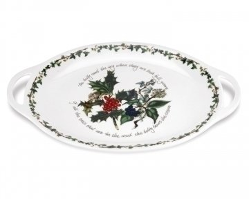 the-holly-ivy-oval-handled-platter-multi-colour-45-cm