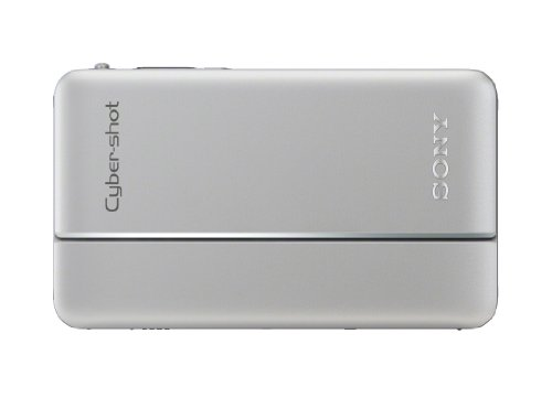 Sony Cyber-shot DSC-TX66 18.2 MP Exmor R CMOS Digital Camera with 5x Optical Zoom and 3.3-inch OLED (Silver) (2012 Model)