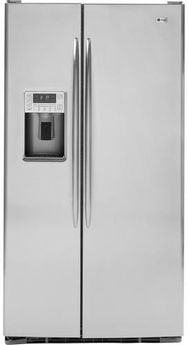GE PSHS9PGZSS Profile 29.1 Cu. Ft. Stainless Steel Side-By-Side Refrigerator - Energy Star