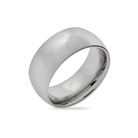 9mm Stainless Steel Wedding Band Size 5 (Sizes 5 6 7 8 9 10 11 12 Available)