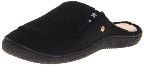 Cheap Isotoner Men's Fleece Clog Sherpa Sock Slippers (B007ZQ2DDO)