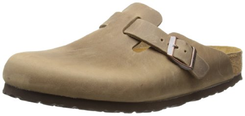 Birkenstock Unisex Boston 960811 Tacacco Brown Slides Sandal 9 UK 42 EU
