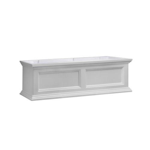 Mayne Fairfield 5822W Window Box Planter, 3-Foot, White (Flower Window Box compare prices)