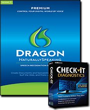 Dragon Naturallyspeaking 11 Premium With Headset & Free Checkit Diagnostics