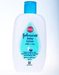 Johnsons Baby Lotion Milk + Rice 200 mL