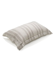 Pure Linen Striped Pillowcase