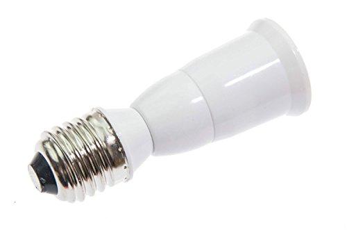 Shangge Ce&Rohs Certification 5 Pcs E27 To E27 L-Model Led Bulb Base Converter Halogen Cfl Light Lamp Adapter Socket Change Pbt